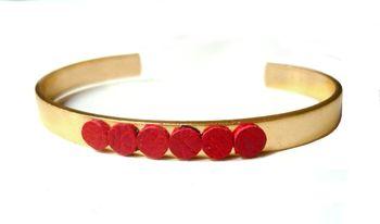 Selene_bracelet_rouge